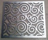 雕刻铝屏风